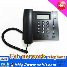 Desktop type Voip Phone / USB IP phone/ multi-platform supported USB VoIP Phone