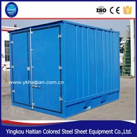 High qulity and low cost prefab container house 2015 ,container house for sale