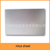 muscovite laminate mica sheet for using microwave equipment