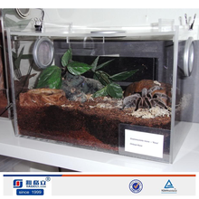 Manufacturer acrylic reptile products display cases/cages,Pet display cages/reptile cage
