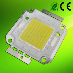 70W 6000K high power pure white led chip