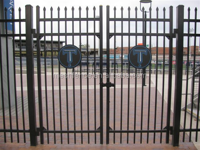 Wrought iron pedestrian gate design buy