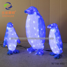 Popular elegant and graceful christmas dative light animal toy ornament 3d Modeling led decor