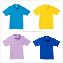 Custom hot sell zipper collar high quality low price polo of shirt