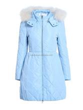 European designer modern style women long winter overcoat jackets