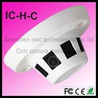 Metal Smoke Detector Hidden Camera FCC CE Rohs