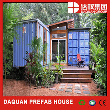 China coal group 2015 hot model High quality fireproof prefab container house, villa, caravan for sale