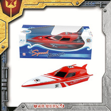 Hot new products for 2015 most popular battery opeated boat toy for kids with spray function