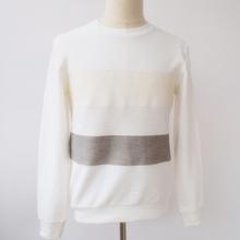 Fashion Design Casual Style Long Sleeve Slim Striped Tshirt Men Cheap China Wholesale Clothing
