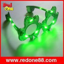 llevó la luz intermitente hasta rave los niños gafas de fiesta de cumpleaños de suministros de china