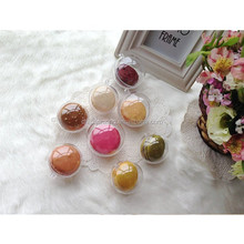 Decoration Clear Plastic Ball 2 Part Bauble With Separator XMAS Ball Promotion Gift Ball For Christmas Decorations