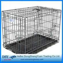 Vatious material foldable wire dog cage (7 years gold suppiler)