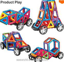 2015 top selling toys magnetic kid car magformers building toy
