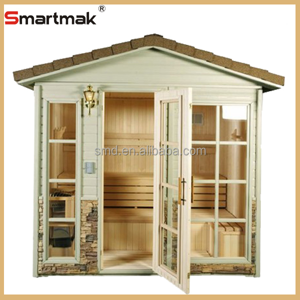 Hemlock Deluxe 3 Person Sauna OutdoorOutdoor For SaleOutdoor