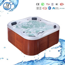 novel&butterflying portable outdoor massage spa bathtub BG-8816 with 7 color waterfall&fountainer etc..
