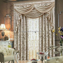Guangzhou wholesale bathroom window curtains in luxury