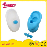 Triple-flange silicone earbud replacement soft silicone earplugs