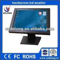 22inch touch panel all in one PC,H55 express chipset ,N5-Wire ResistiveIntel Core i3,VIDIA GT218 graphics , aluminium frame