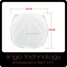 """20"""" 50x50cm Photo Studio Shooting Tent Light Cube Box Kit 4 Colors Backdrop Set"""