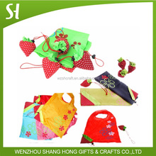 2015 polyester bag fruit polyester carry bag folding bag