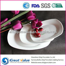 high quality square cheap antique chinese porcelain plates for restaurant use