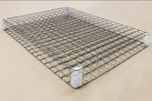 Cheap Price Vacuum Compressed euro spring mattress continuous spring for mattress