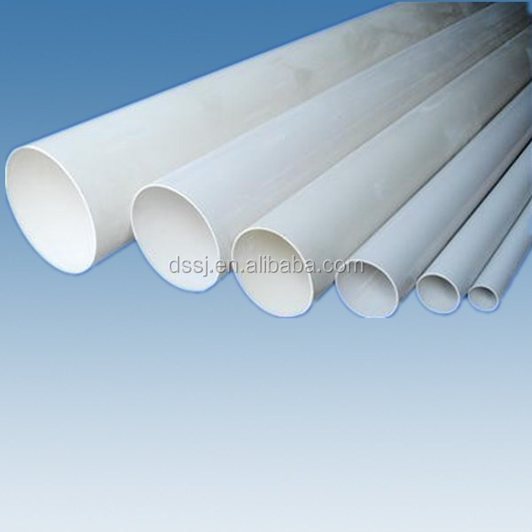 200mm wholesale white grey pvc pipe 8 inch water supply for White plastic water pipe