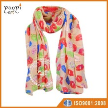 Autumn and Winter Scarf female lip section South Korea