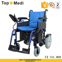 TOPMEDI new style aluminum power cheap prices handicapped foldable small electric wheelchairs for disable people