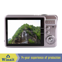 "16MP digital camera+2.7"" TFT display+4x digital zoom+anti shake + sd card slot + lithium battery"