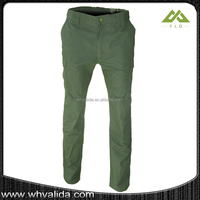 Camouflage Military Pants In Olive Green