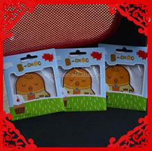 2015 hot selling animal paper air freshener, promotional paper air freshener