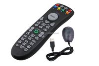 Wireless Computer Remote Control with Mouse ideal for Media Applications Windows Media Center Windows 8 / 7 / Vista & XP