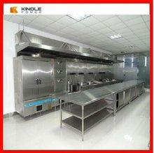 Moderno armario de cocina Europeo acero inoxidable