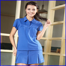 Customised polo shirts for ladies high quality 100% cotton plain polo shirts wholesale china