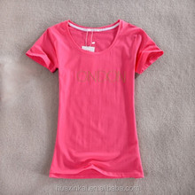 Wholesale T Shirt Printing Words Soft and Thin New Pattern T-shirts