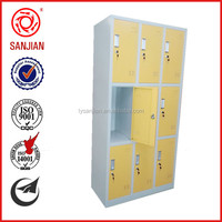 SJ-076 high quality factory cheap used metal custom wardrobes for small spaces