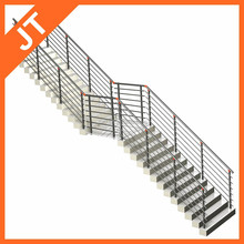 outdoor stair rail/outdoor steel stairs/outdoor stair handrails