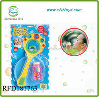 Flying bubble disk plastic frisbee with flying bubble game bubble set