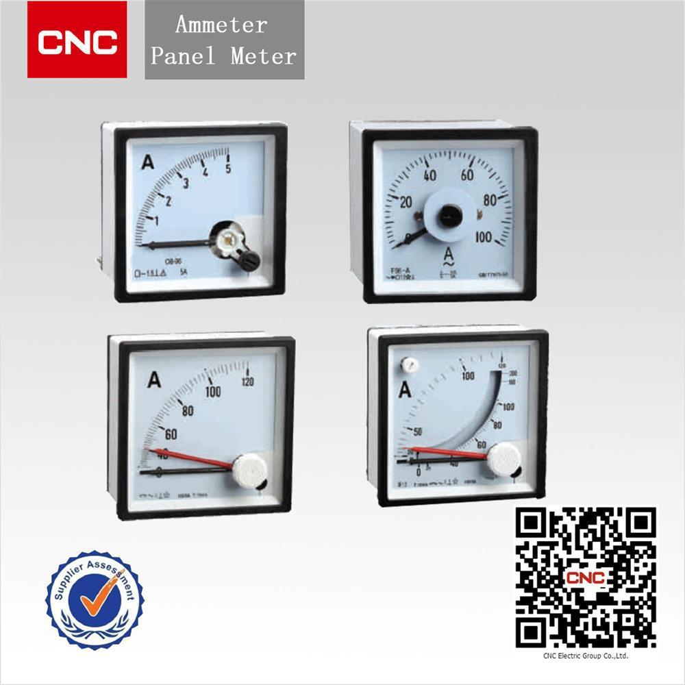 Analog Panel Meter : Analog display type ac amp panel meter buy