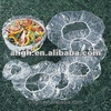 catering safety disposable plasic bowl cover