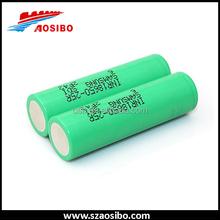 Popular Samsung 18650 rechargeable li-ion battery pack, samsung imr 18650 inr18650-25r green flexible li-ion battery