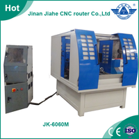Jiahe good working JK-6060M 4 axis metal cnc / mini metal cnc milling machine