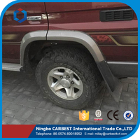 High Quality ABS Hilux Fender Arches for Land cruiser pick up FJ70 2014