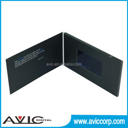 Shenkzhen directly supply best price 512MB A4 size 4.3inch LCD TFT video in print
