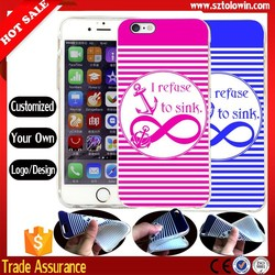 2015 Make Your Own logo tpu case for iphone 6, cheap price for iphone 6 custom case