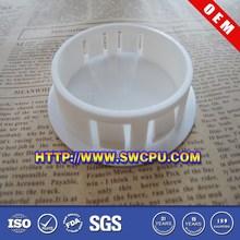Round plastic cap end of steel tubes, plastic end cap