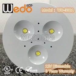 Furniture High Quality LED Puck Light Kit, 3W LED, household under-cabinet 3W LED Light