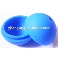 venta al por mayor de hielo de silicona molde de la bola y el bloque de hielo cubo de molde de la bandeja