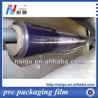 india blue film pvc soft film